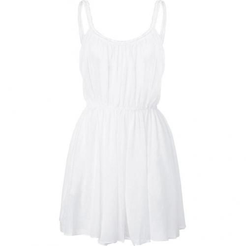 Zimmermann White Charmer Plaited Sun Dress