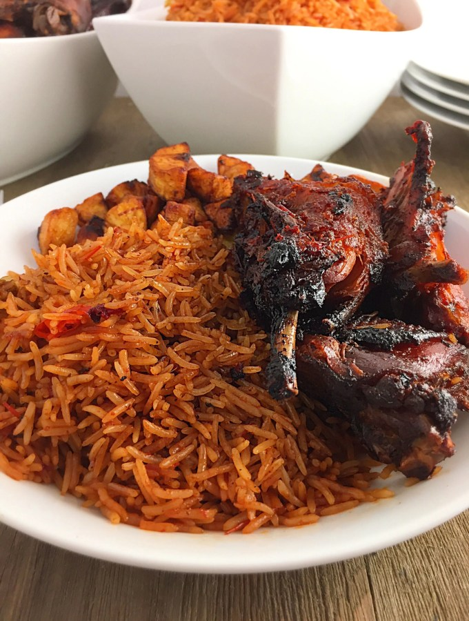 Easy Peasy Nigerian Party Jollof Rice