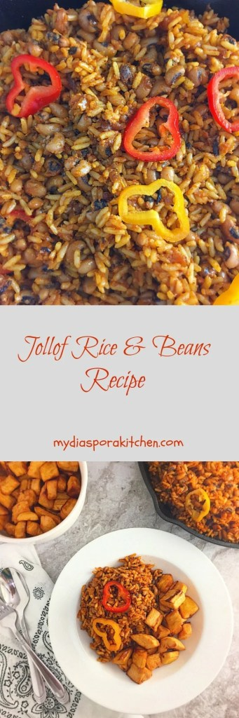 Jollof Rice & Beans