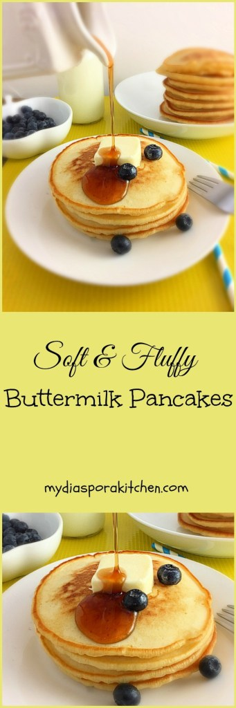 Soft, fluffy buttermilk pancake