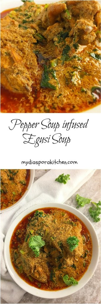 Pepper Soup spice infused egos soup