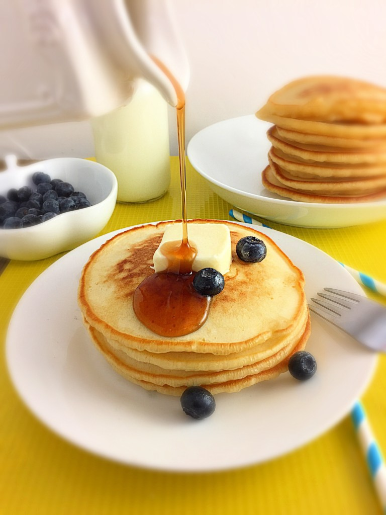 Soft and fluffy buttermilk Pancakes