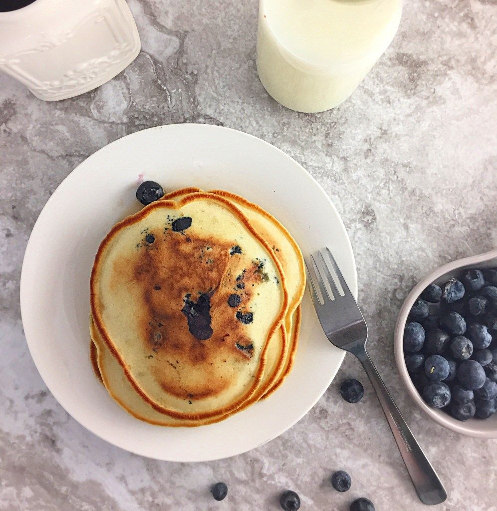 Blueberry Pancakes for the win