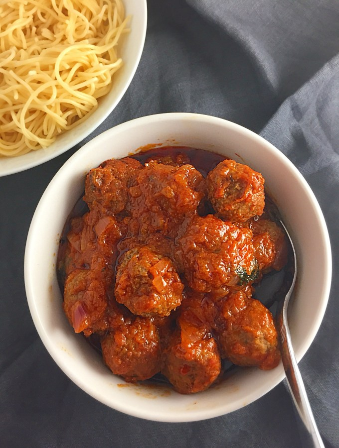 The Quickest Yet Delicious Meatball Sauce Ever…