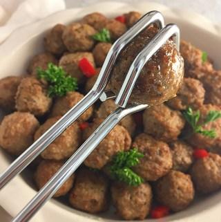 Homemade meatballs in 3 Easy Steps