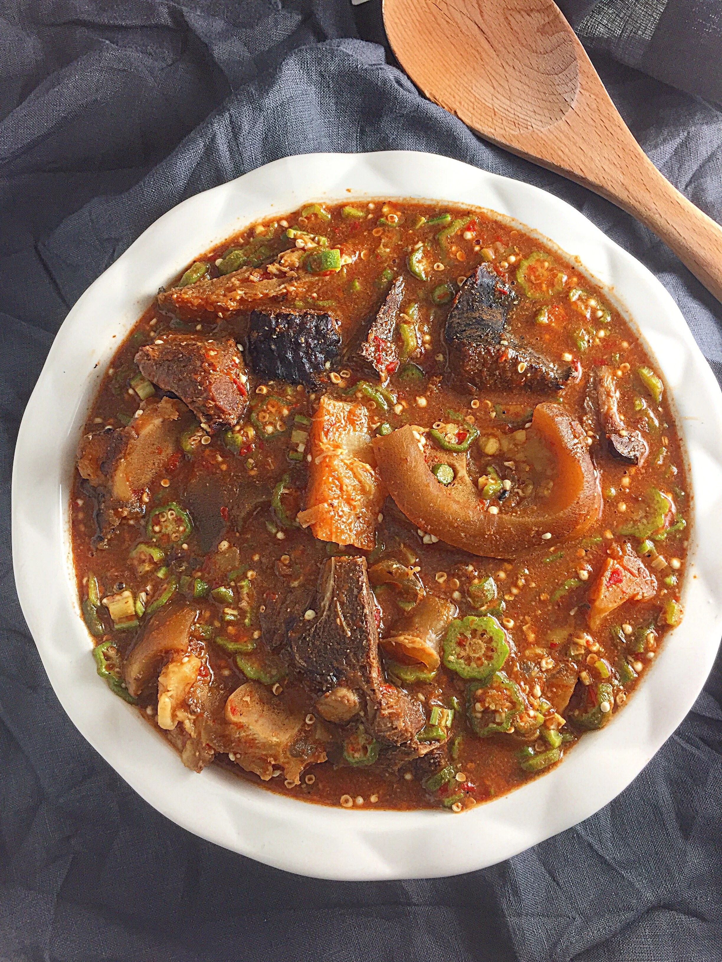 Easy Nigerian Okro Soup My Diaspora Kitchen