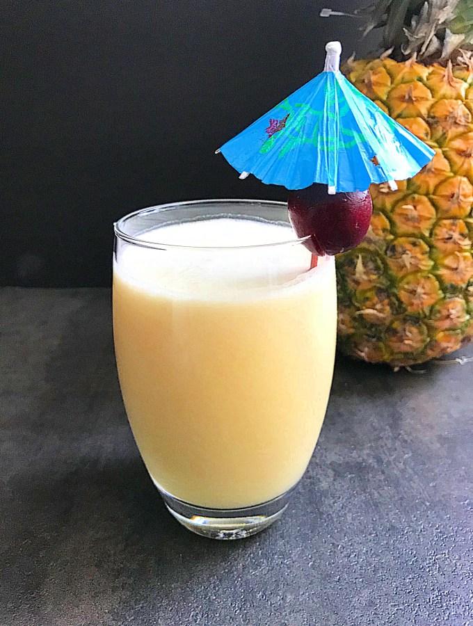 Pina Colada: Puerto Rican National Drink.