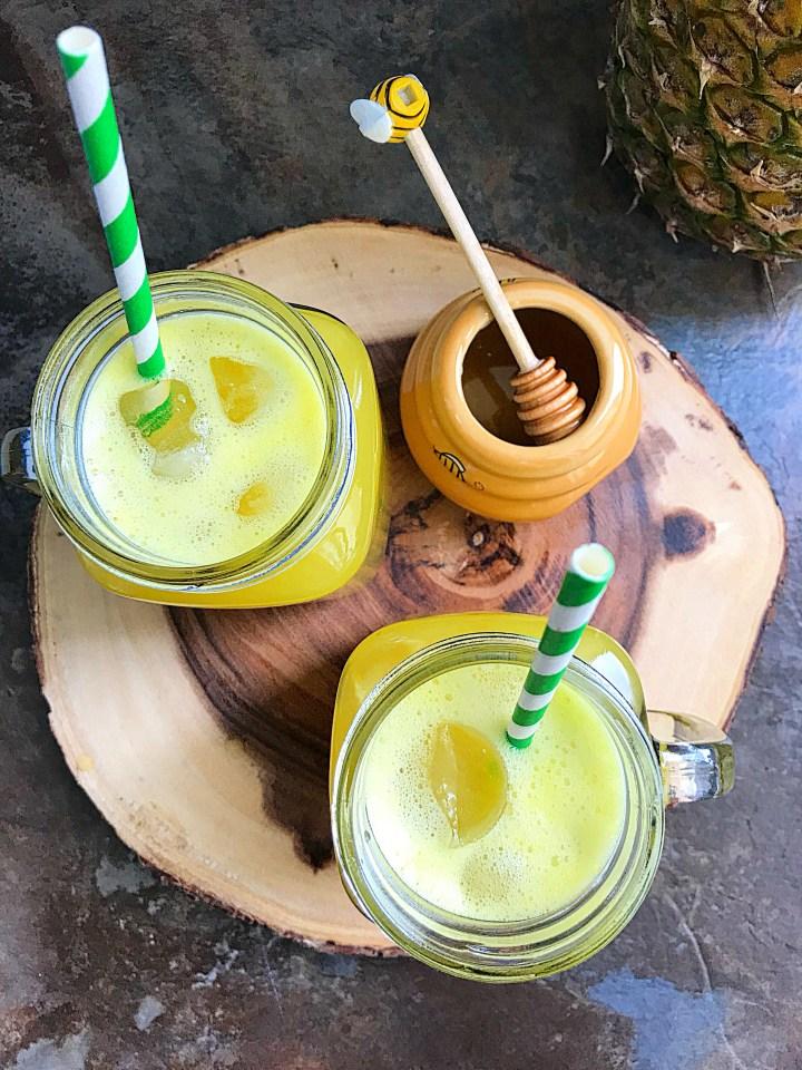 honey pineapple juice