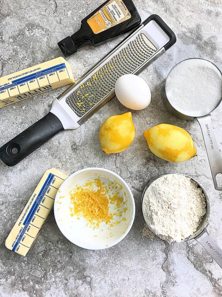 Easy Lemon Sugar Cookies