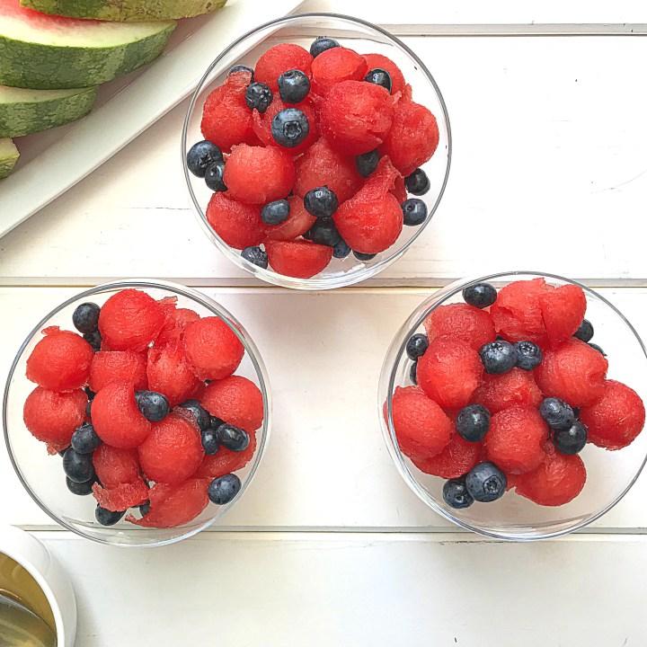 Easy Blueberry Watermelon Salad