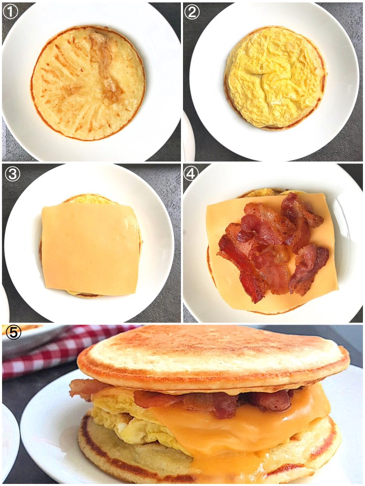 Bacon-egg & cheese Mcgriddle