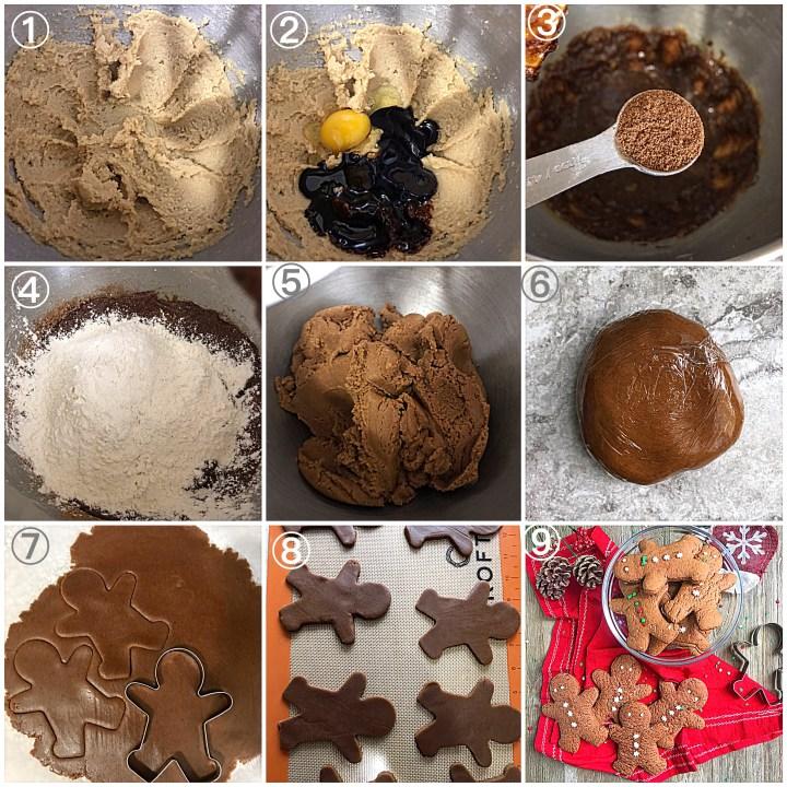Classic Gingerbread men cookies
