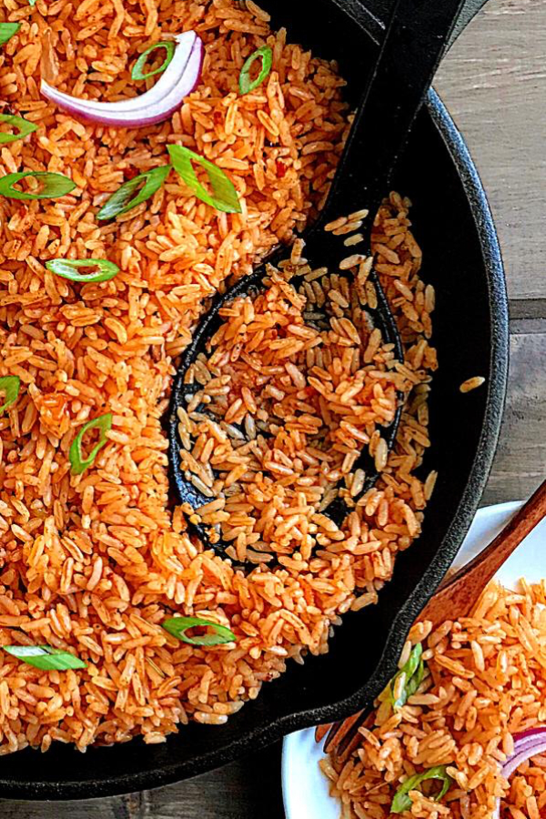 Easy Vegan Jollof Rice
