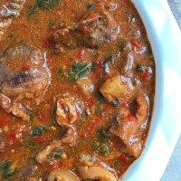 Delicious Oil Free Ogbono Soup