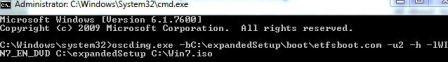 Make Windows 7 Bootable ISO