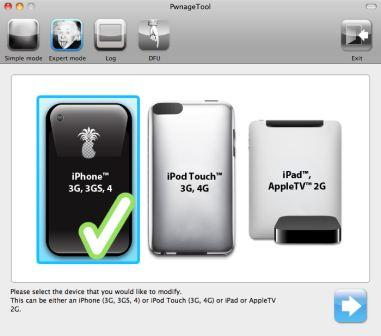 PwnageTool 4.1 Supported Devices