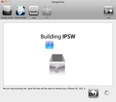 PwnageTool Build Custom Firmware IPSW