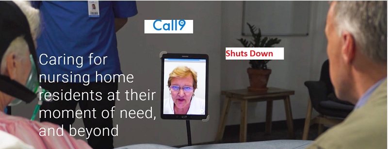 Startup Call9 shutting down telehealth services to nursing