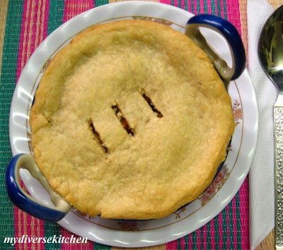 Vegetable Pot Pie – Indian Style (V)