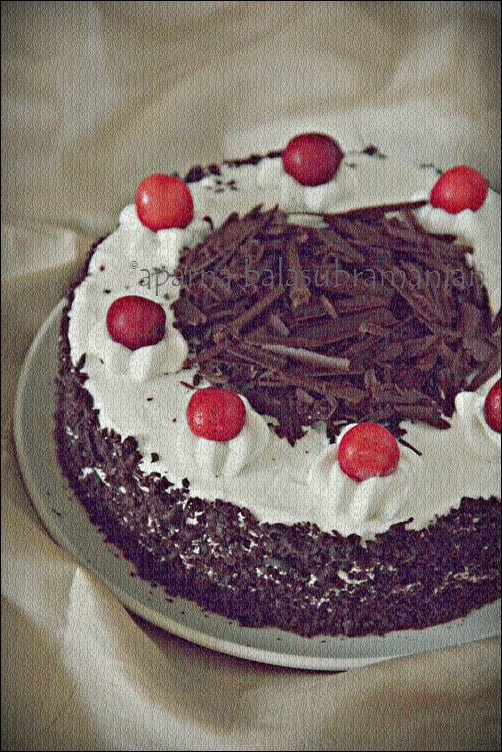 An Alcohol Free Schwarzw 228 Lder Kirschtorte Or Black Forest