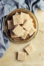 Thengai Burfi or Coconut Fudge