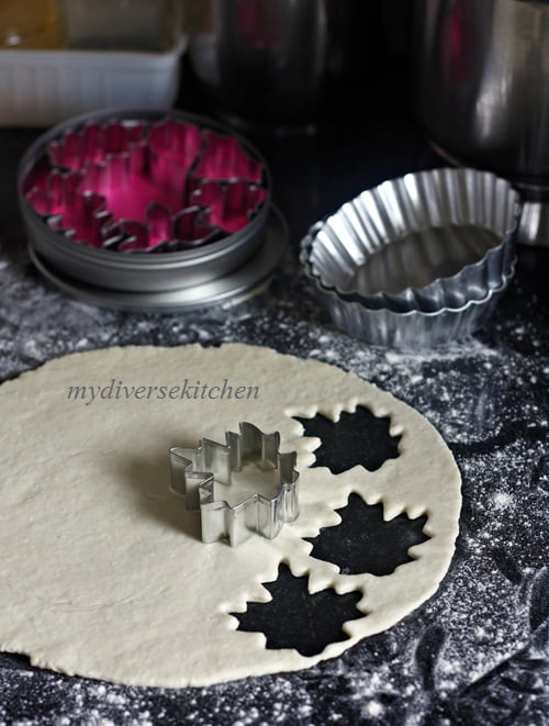 mini apple pie cutouts