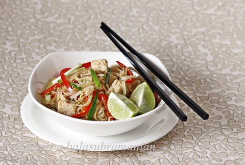 Yings best one dish meals a review and a spicy sesame pad thai some examples of the recipes you can find in the book are happy family stir fried rice pan fried tofu salad with green tea and honey dressing spicy sesame forumfinder Gallery