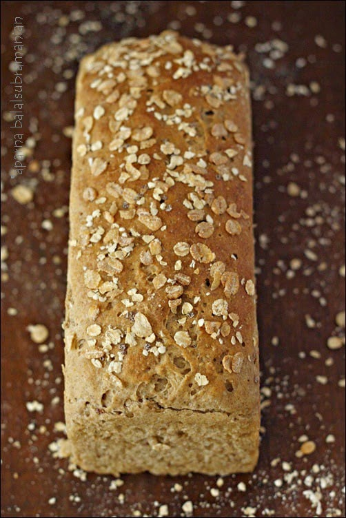 My Version of the Granary-Style Bread Loaf