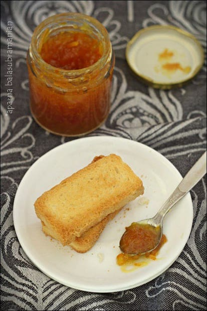 My Favourite Earl Grey Orange Marmalade with Ginger