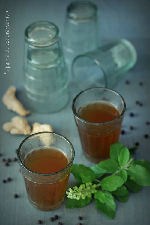 Chukku Kapi (A Herbal Coffee With Dry Ginger And Black Pepper from Kerala) & Winner of the Café Spice Cookbook Giveaway