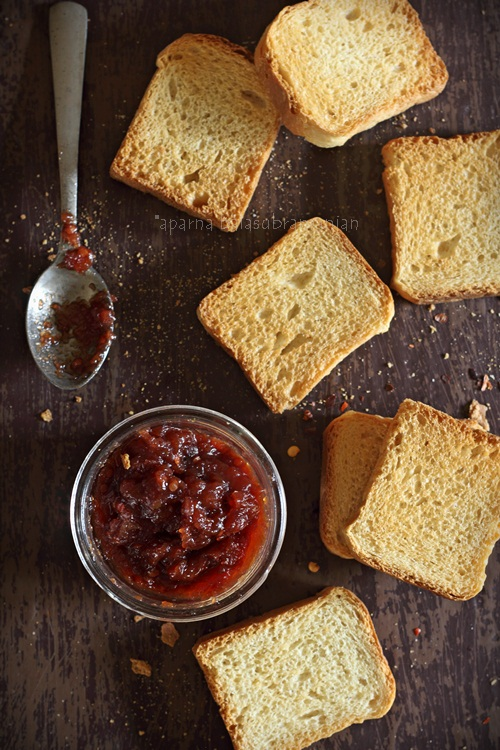 Tamarillo and Pear Jam