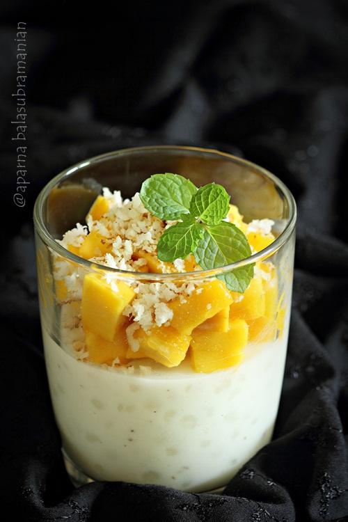 Vegan Tapioca Pearl Pudding