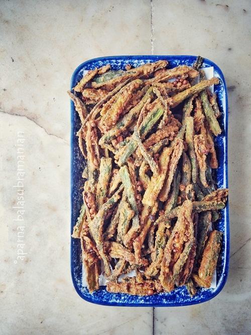 Kurkuri Bhindi Crispy Okra