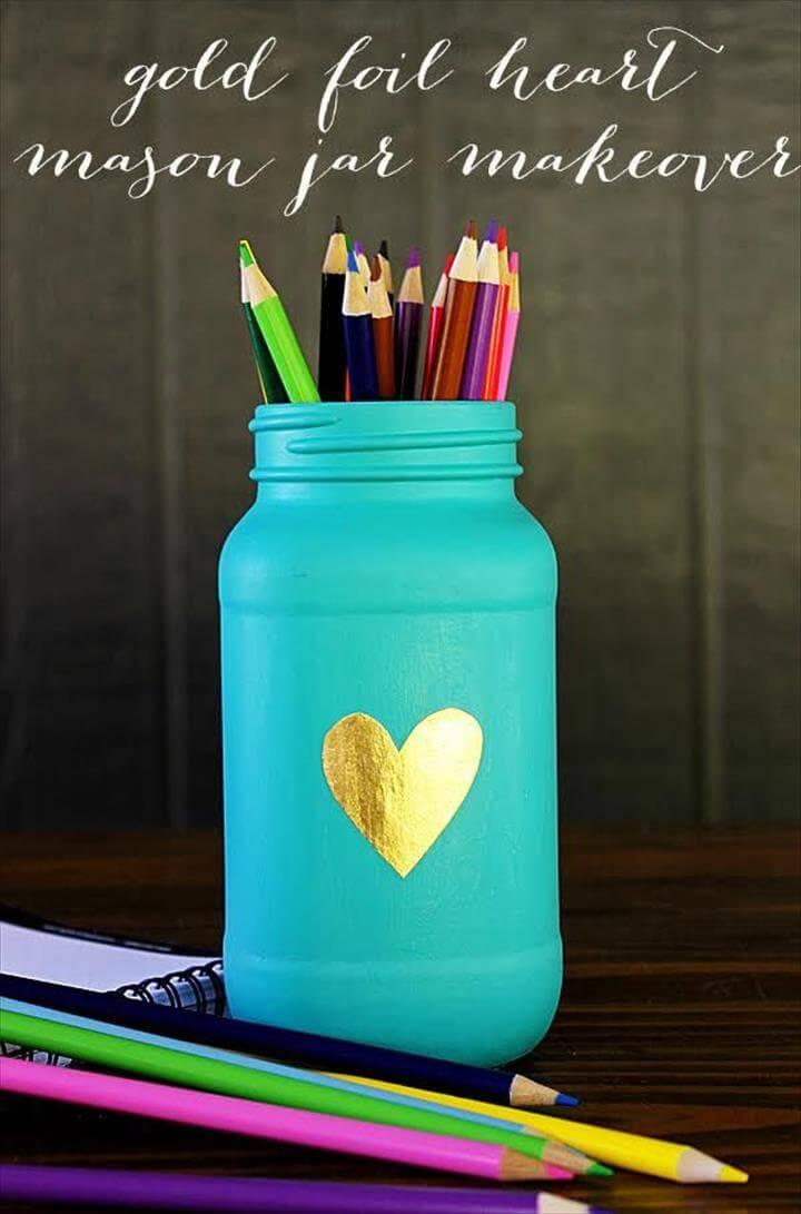 17 Cute Amp Easy Diy Mason Jar Ideas