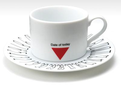 Tarihi Gösteren Kahve Bardağı