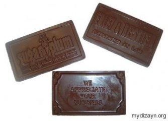Çikolata kartvizit