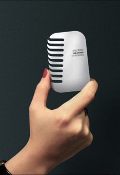 Radyo / Ses Sitemleri şirketleri için Kartvizit