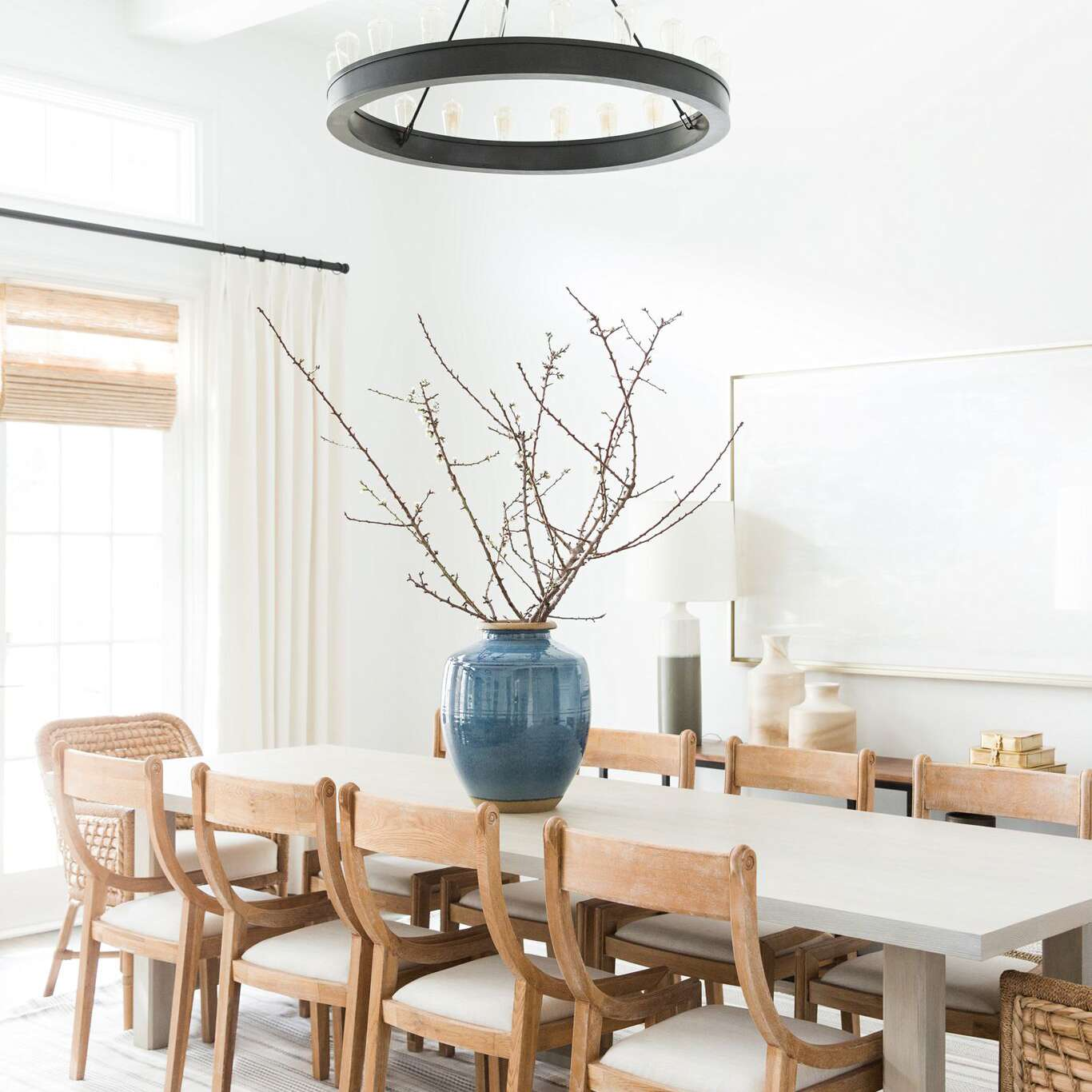 20 modern farmhouse dining rooms that