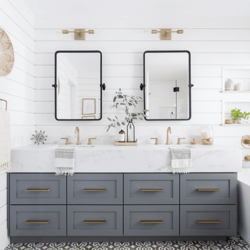double vanity ideas to try in your bathroom