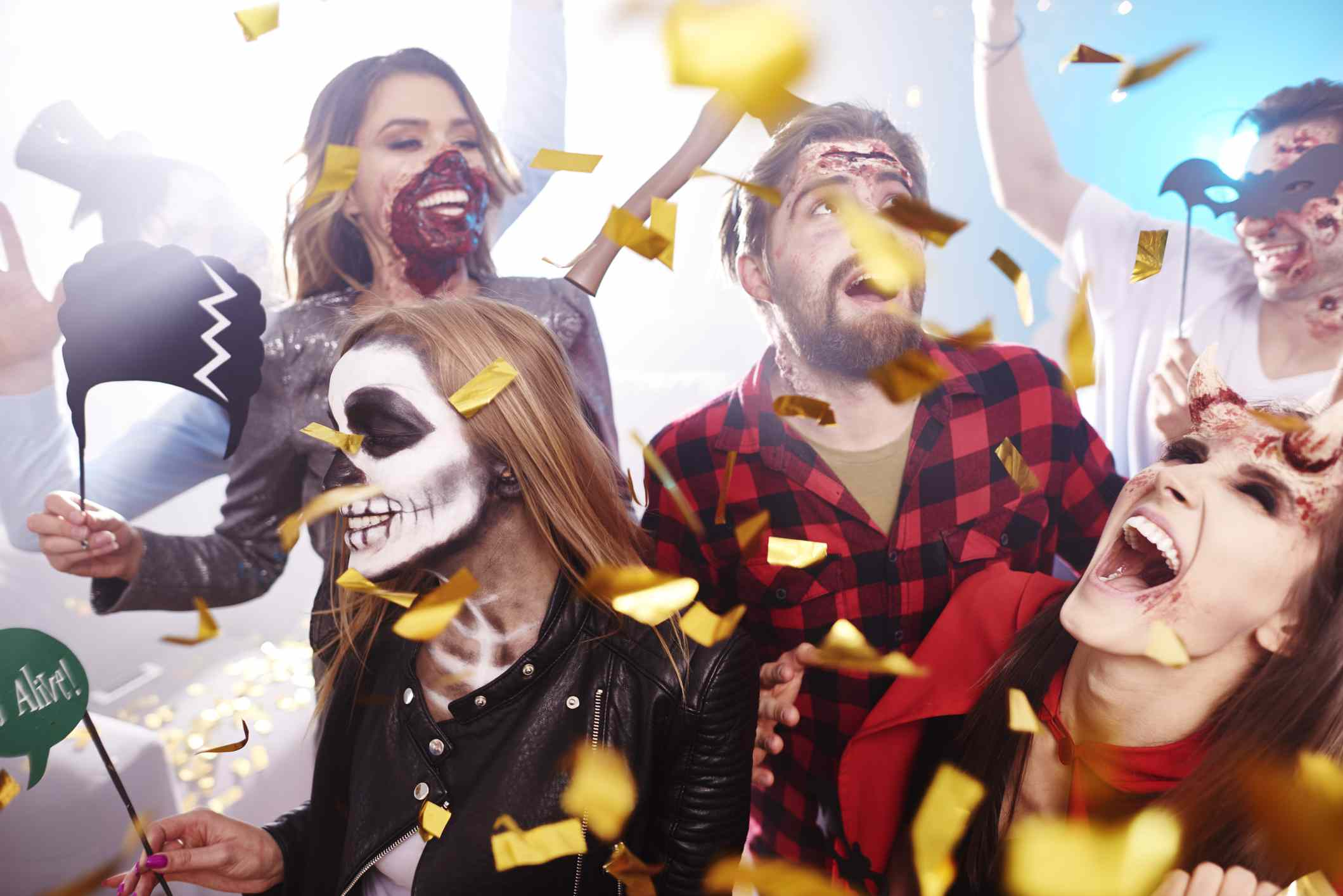 The spruce / autumn wood add some spirit to your halloween party games with a spooky ghost theme. 13 Best Halloween Party Themes Fit For Adults