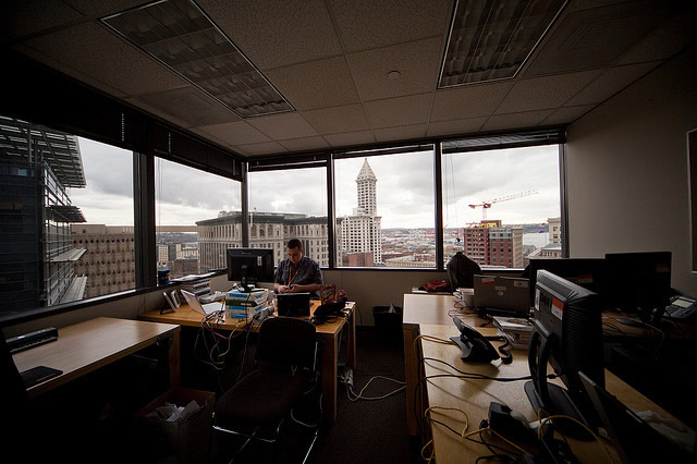 windowless offices result in less sleep