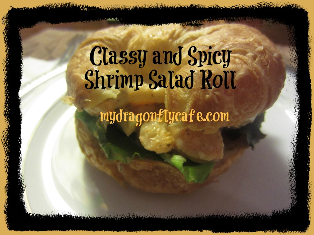Classy and Spicy Shrimp Salad Roll