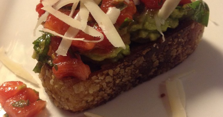 Avocado Toast with Bruschetta
