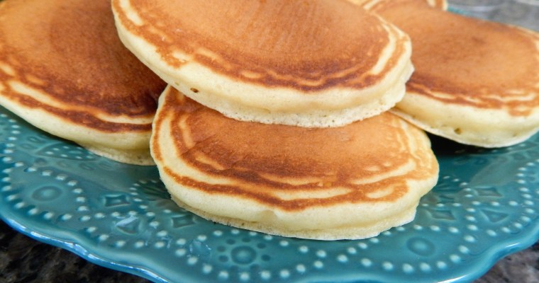 Butter Rich Pancakes