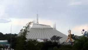 The Magic Kingdom is home to Tomorrowland, where you can find Space Mountain!