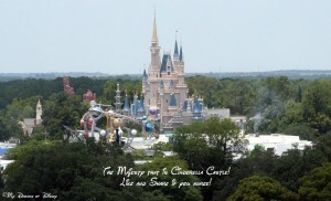 Magic Kingdom, Cinderella Castle, Bay Lake Tower