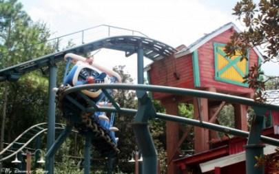 Goofy's Barnstormer, Mickey's Toontown Fair, Magic Kingdom