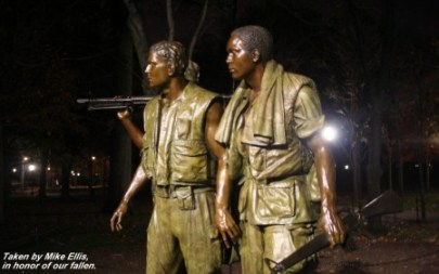 Vietnam Memorial, Veterans Day, Washington, DC, My Dreams of Disney