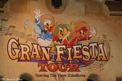 Gran Fiesta Tour, The Three Caballeros, Mexico Pavilion, Epcot World Showcase