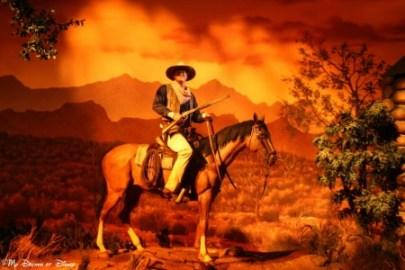 John Wayne, Great Movie Ride, Disney's Hollywood Studios